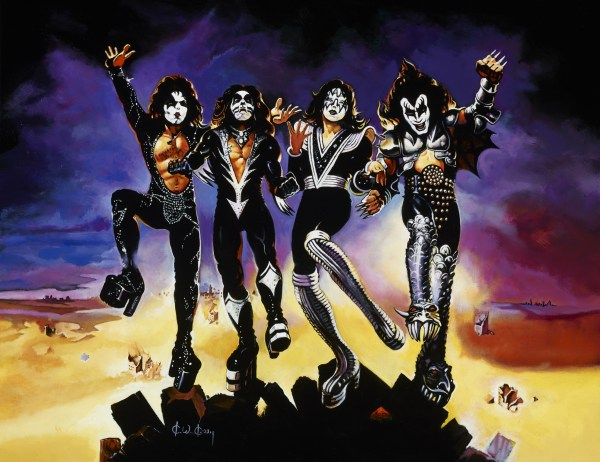 Kiss Destroyer In Greg .' Ken Kelly Comic Art Room