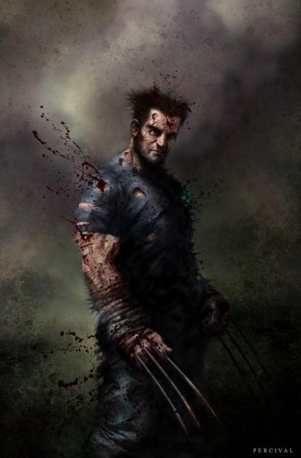 Wolverine In Nick Percival' Artwork Comic Art Room