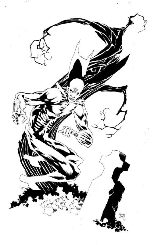 Kelley Jones Deadman, in aric shapiro's Kelley Jones Comic