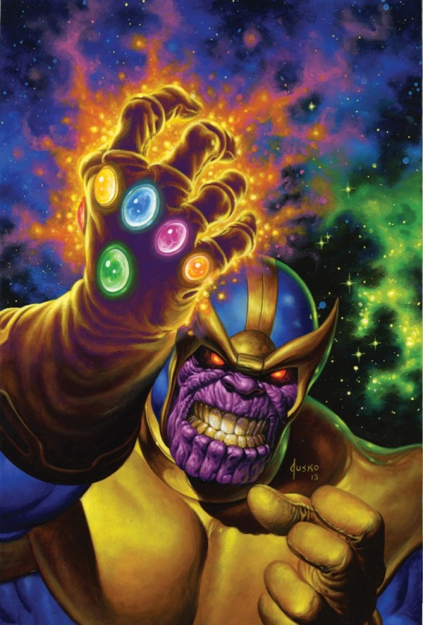 Thanos In Joe Jusko' Jusko Paintings Comic Art Room