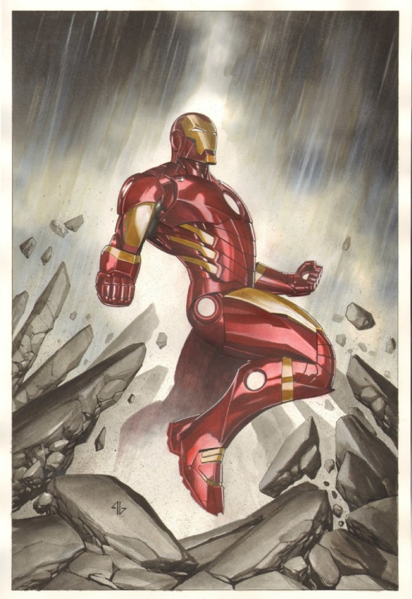 Iron Man Marvel #1 Variant - Adi Granov In Chris