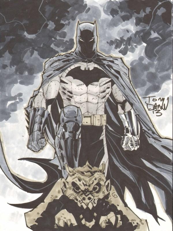 Batman Tony Daniel In Chris Nordeen' Commissions And