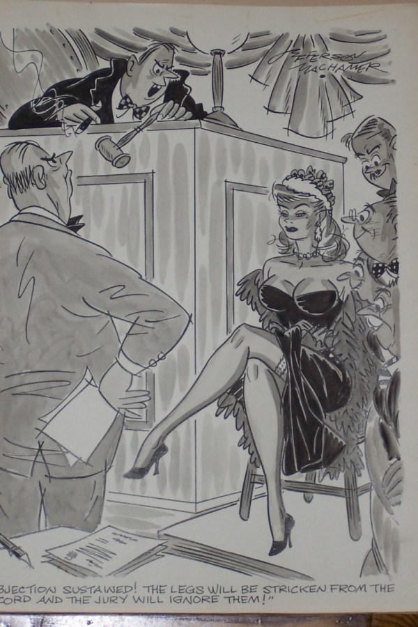 Jefferson Machamer - Humorama Cartoon In Chris Parente'