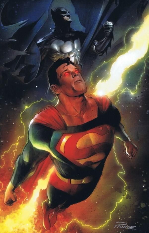 Superman Batman Painting Print Nick Runge In Dave