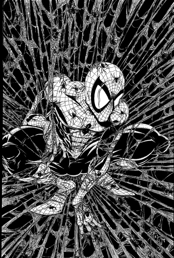 Spider-Man Todd McFarlane Drawings