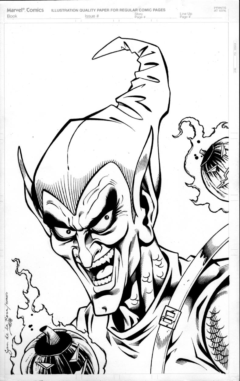 Green Goblin, in Michael Henderson's de la ROSA, Sam Comic