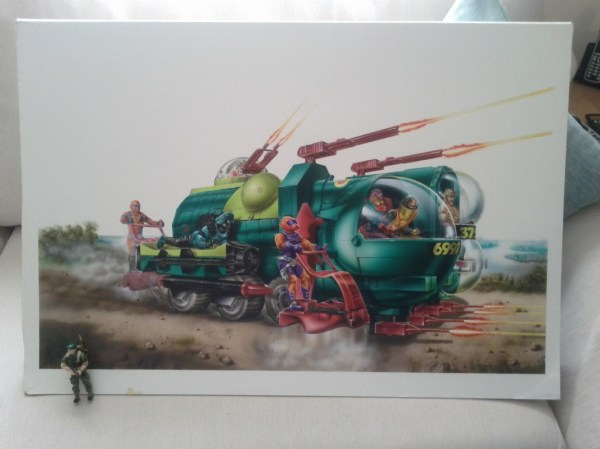 Cobra Bugg European Packaging Art In Shane Turgeon' Toy Gi Joe Comic Room