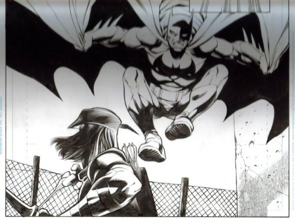 Pacheco Superman Batman In William Frey' Comic Book