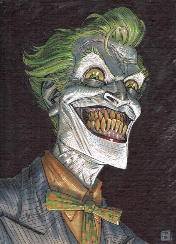 Joker Tony Moore In Branticus ' Random Comic Art Room