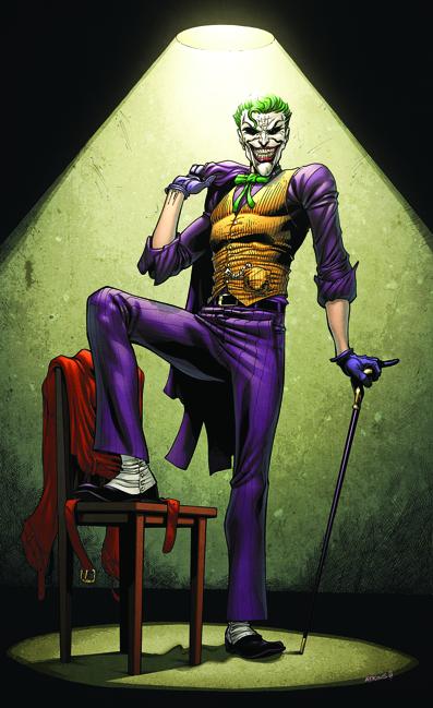 The Joker in Michael Heddles Random Art Comic Art