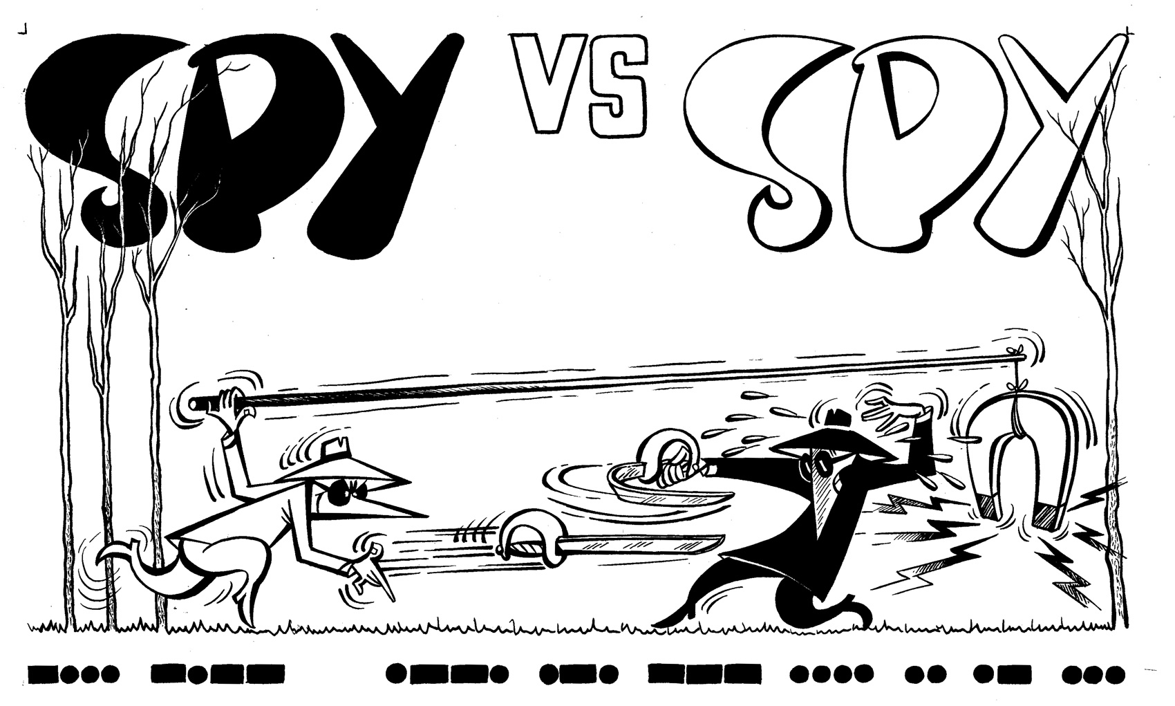 Spy vs Spy: MAD #87 Top, in Brian Peck's iSpy some MAD Art