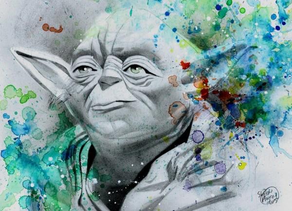 Star Wars Yoda In Shelton Bryant' Space Savage Lands