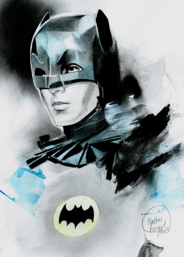 Batman 1966 Artwork