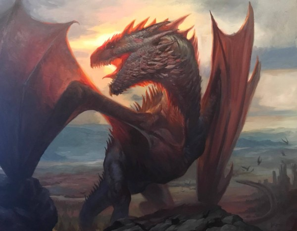 Lucas Graciano Dragon Painting Mtg Magic Gathering Artist In Tatiana Tdart Dykes' -theme