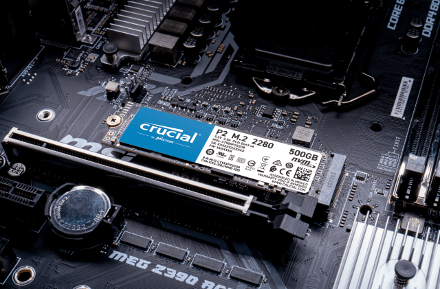 Crucial P2 250GB PCIe M.2 2280SS SSD   CT250P2SSD8   Crucial TW