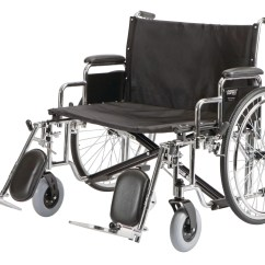 Bariatric Transport Chair 500 Lbs Revolving At Cheapest Rate Panacea Wheelchair 26 W X 20 D Dual Axle Wire Spoke