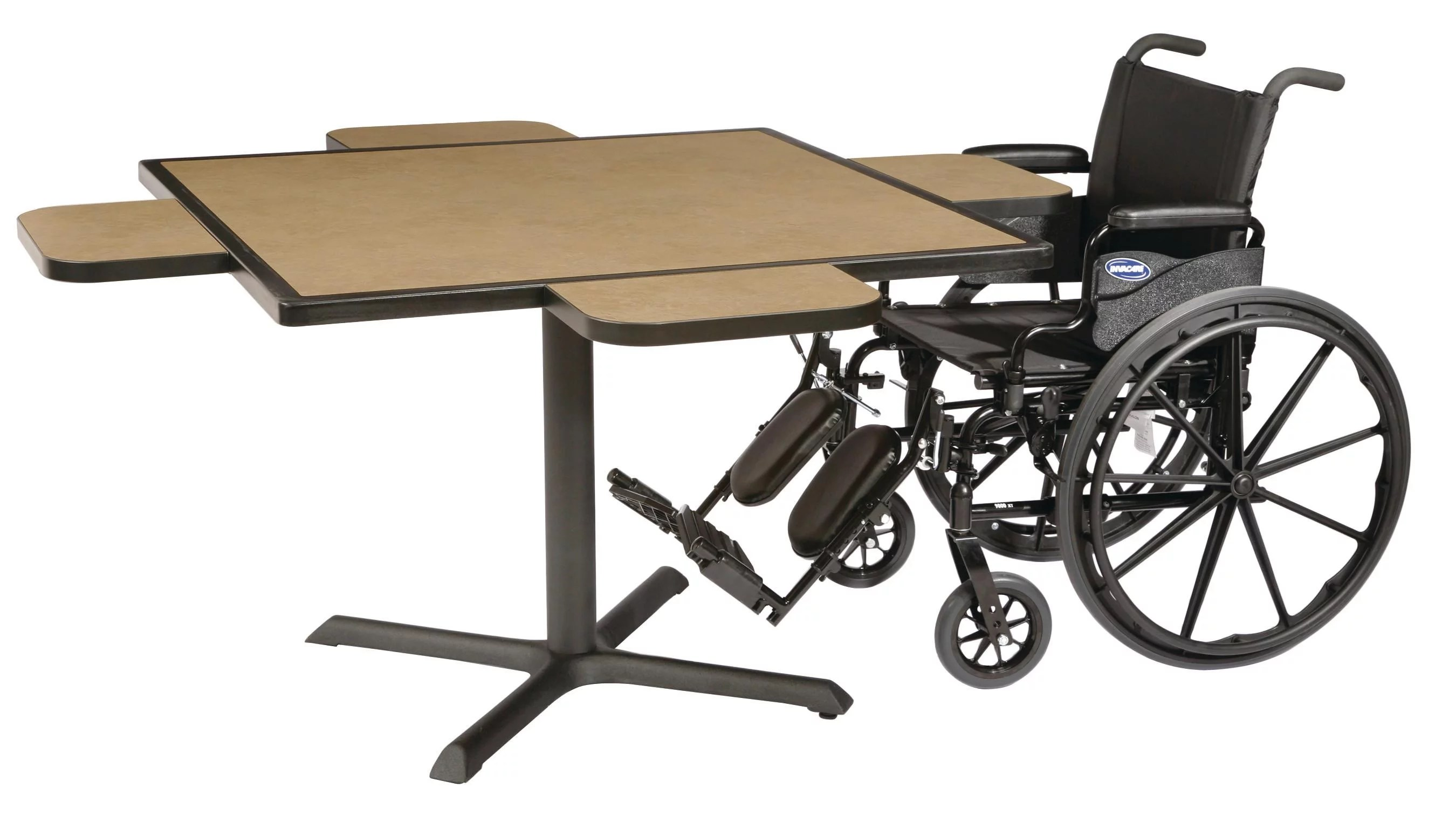 wheelchair base jtf fishing chair maxwell thomas dining table with 42 x accessible
