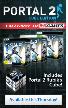 Portal 2 Cube Edition Available April 21 Exclusive To