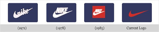 Nike's logo evolution