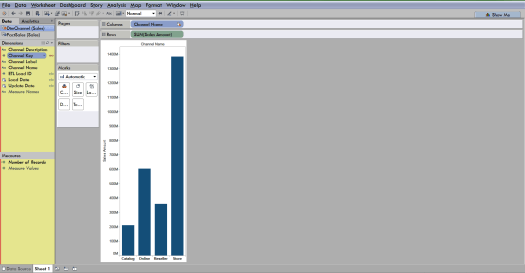 primary and secondary data source in Tableau