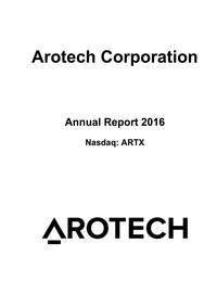Financials :: Arotech Corporation (ARTX)