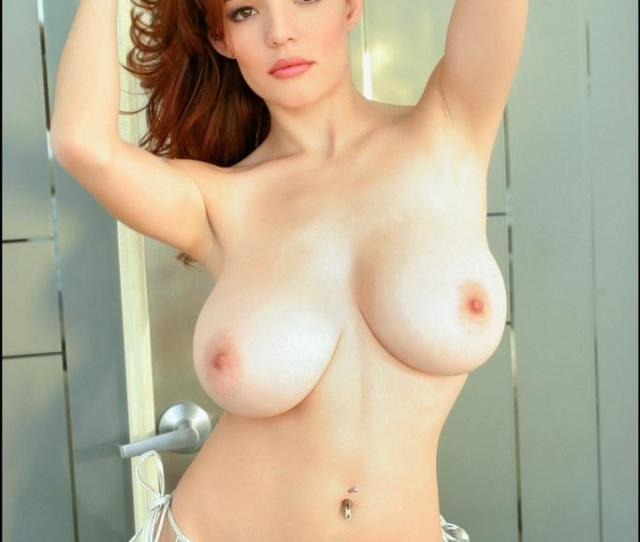 Gorgeous Redhead Babes Showing Her Bog Tits Danielle Riley