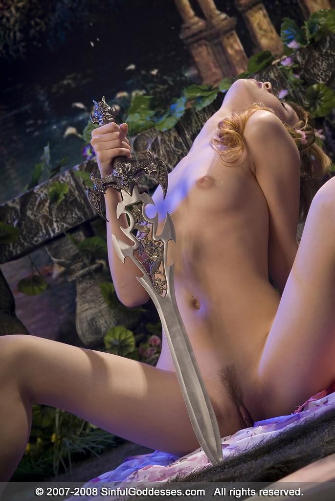 Beautiful princess with long sword - Dani - 11