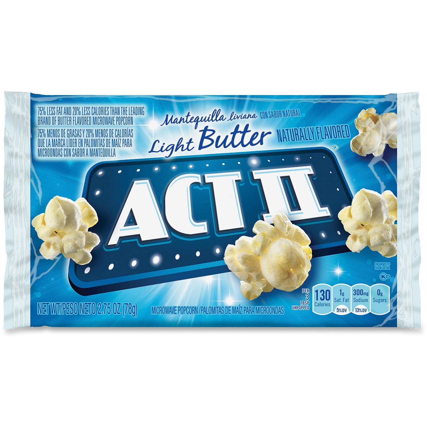 act ii microwave popcorn bulk box evergreen commercial office products