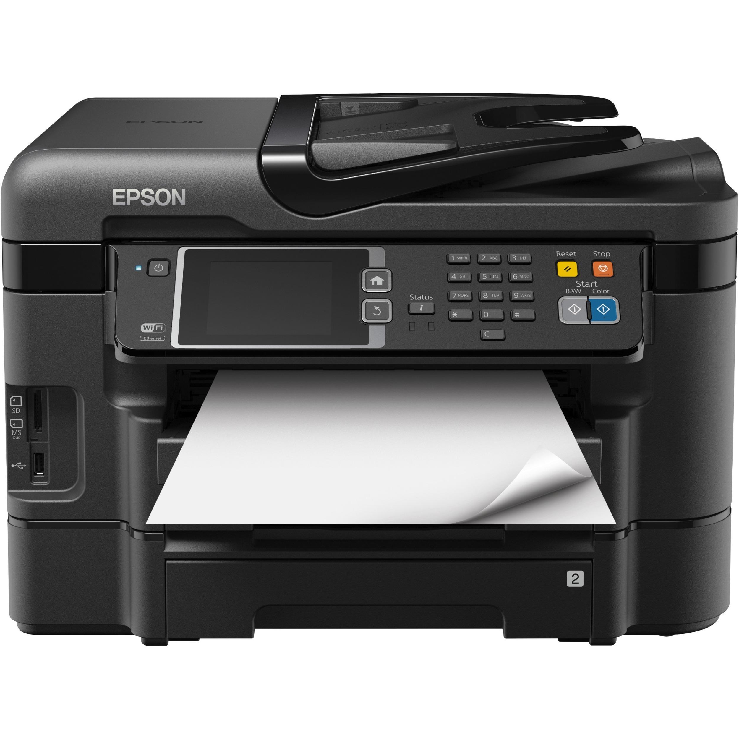 epson fax manual