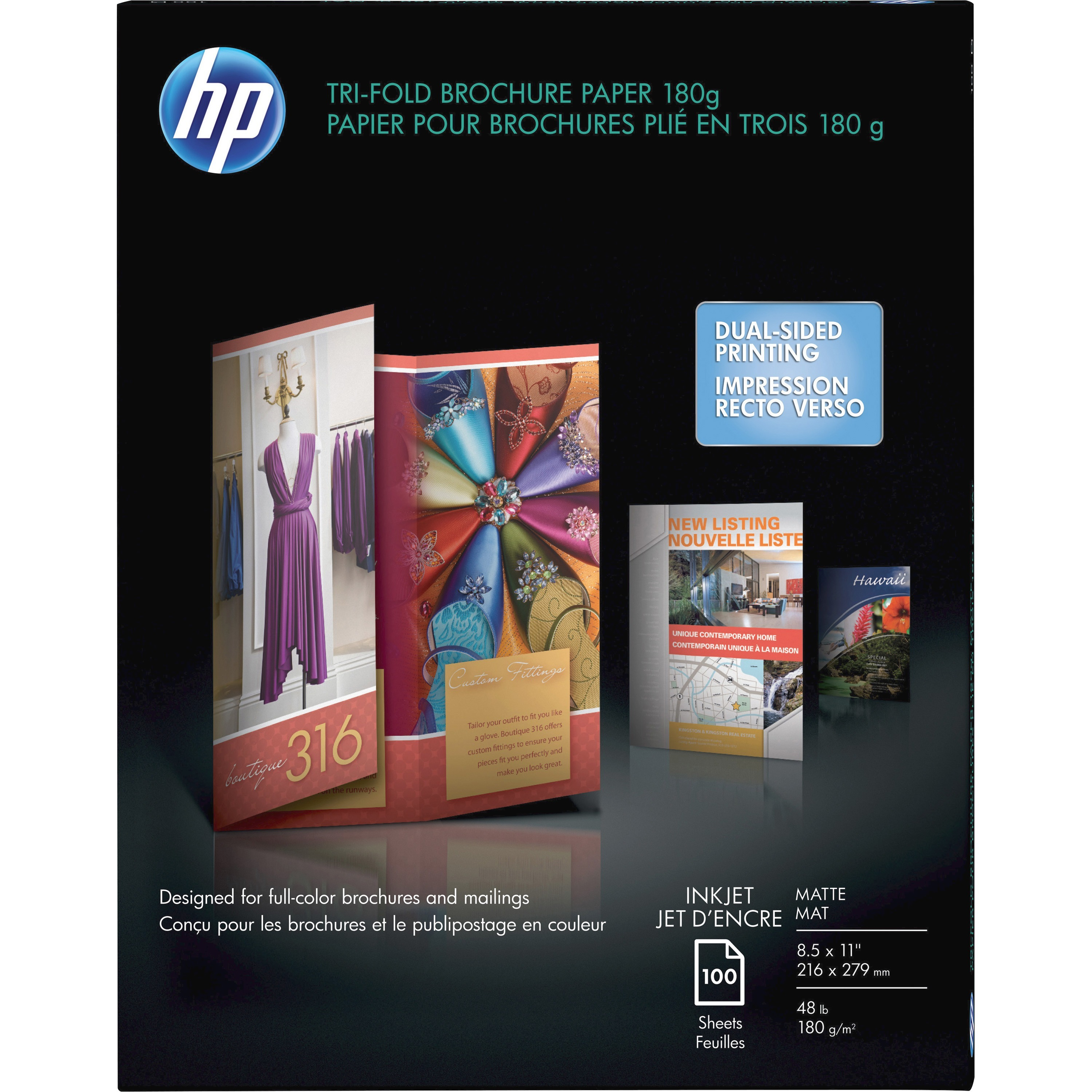 Hp Brochure And Flyer Paper Matte Dolap Magnetband Co