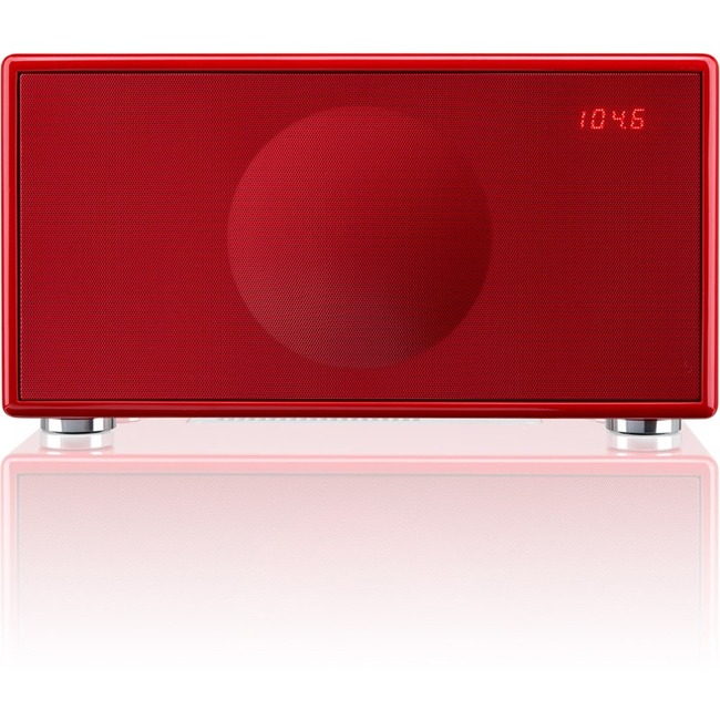 Geneva Lab Sound System Model M Red Product Overview