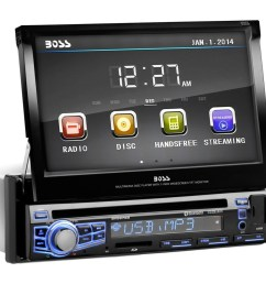 boss audio bv9976b 7 touchscreen single din dvd w bluetooth gallery touch screen receiver bv9965 wire harness  [ 900 x 900 Pixel ]