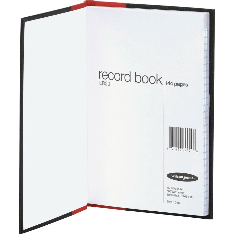 Wilson Jones Miniature Account Book 7 7 8 X 5 1 4 28