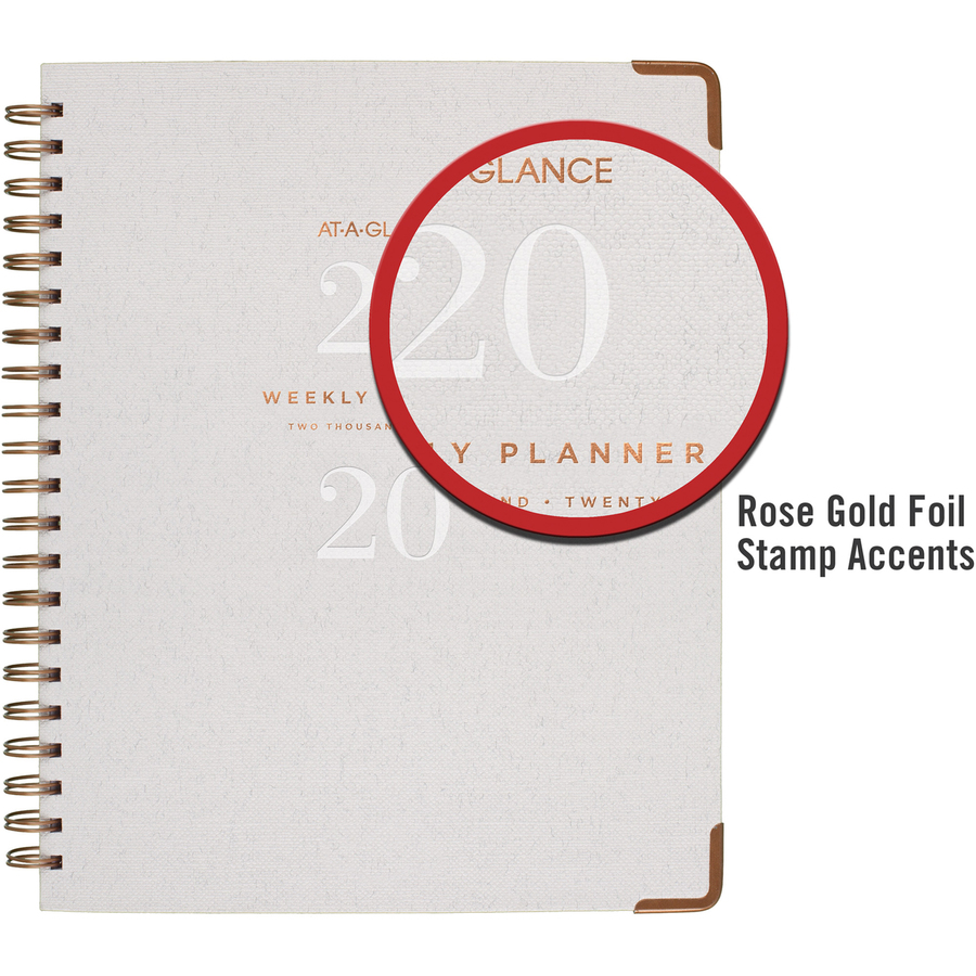 At-A-Glance Signature Collection Hardcover Weekly/Monthly