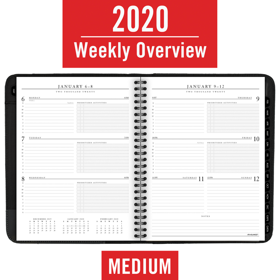 At-A-Glance 70-545-05, At-A-Glance Executive Weekly and