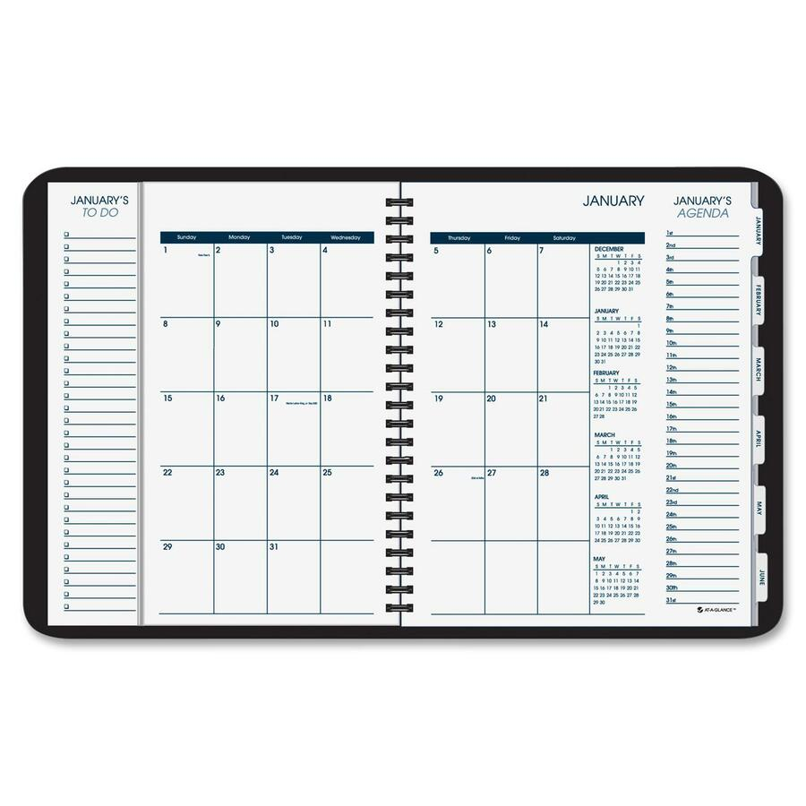 At-A-Glance Daily/Monthly Triple View Appointment Book