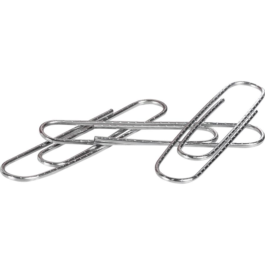 ACCO® Premium Jumbo Paper Clips, Non-skid Finish, Jumbo