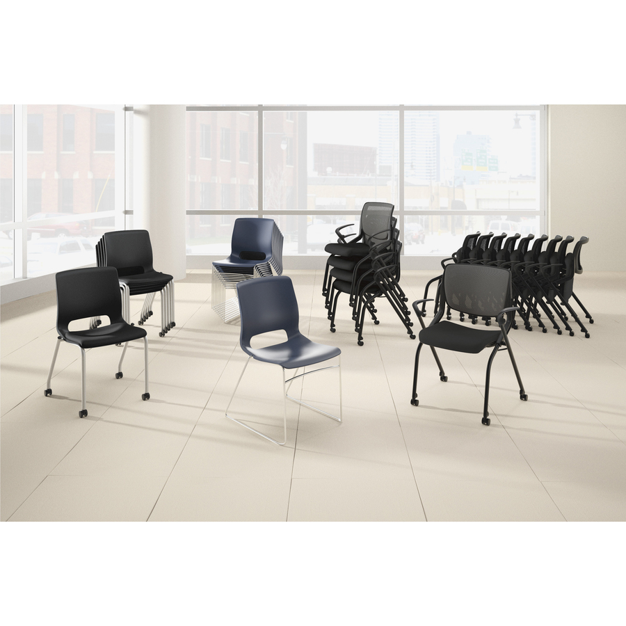 lifetime stacking chairs 2830 black molded seat louis 15 armchair hon motivate chair honmg201cu10