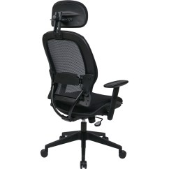 Office Chair With Headrest Design Cad Star Professional Air Grid Adjustable