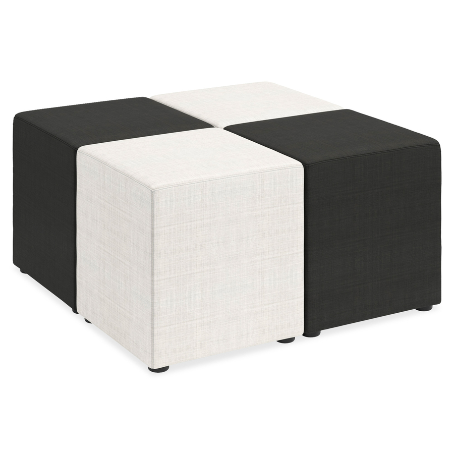 Lorell Fabric Cube Chair  LLR35856  SupplyGeekscom