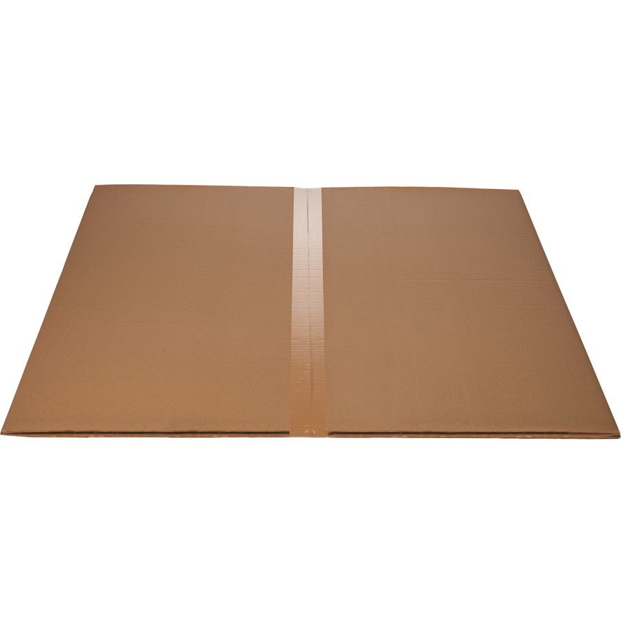 Lorell Hard Floor Rectangler Polycarbonate Chairmat  Hard
