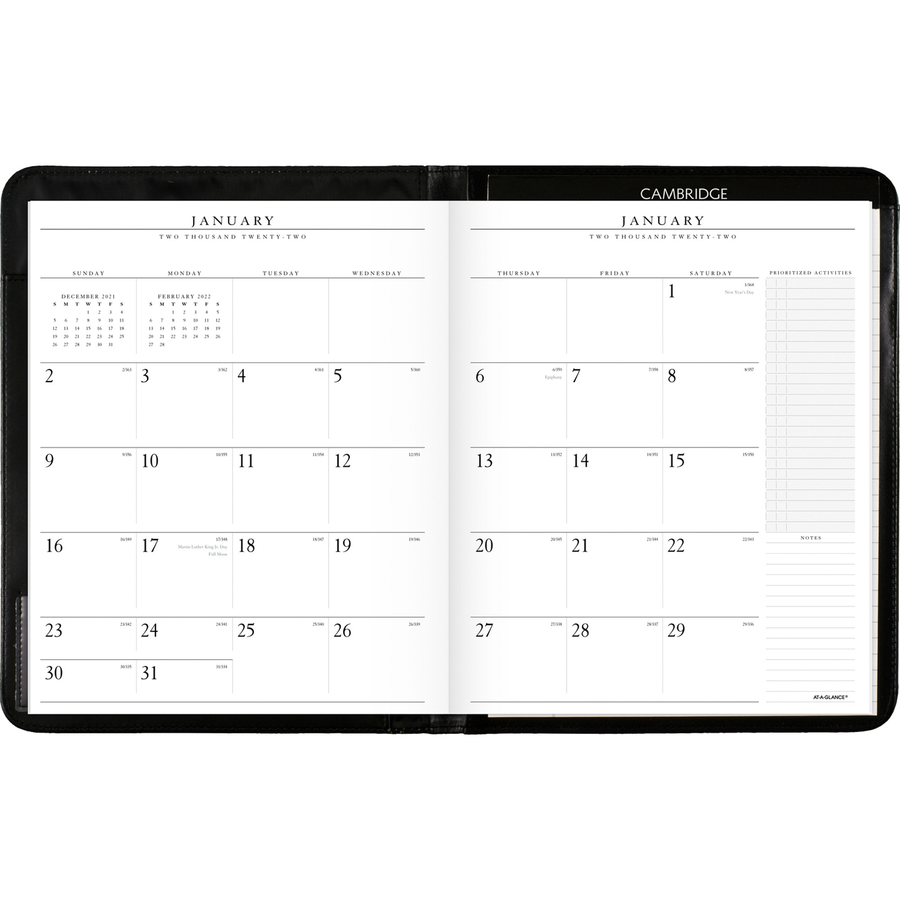 At-A-Glance Executive Monthly Padfolio