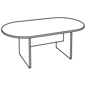 Lorell 87272, Lorell 87000 Series Oval Conference Table
