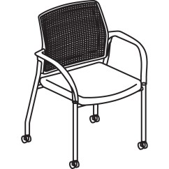 Lifetime Stacking Chairs 2830 Black Molded Seat Game Winner Chair Hon Multipurpose Mobile Poppy Guest