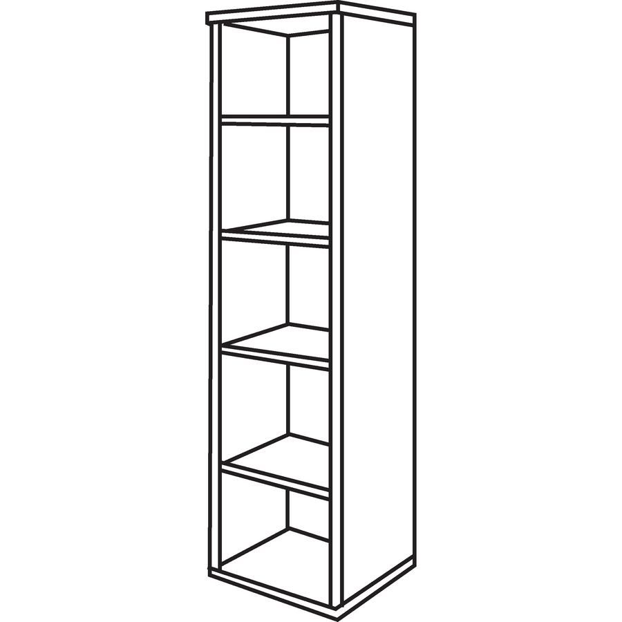 Bush Business Furniture Series C 18w 5 Shelf Bookcase Bsh
