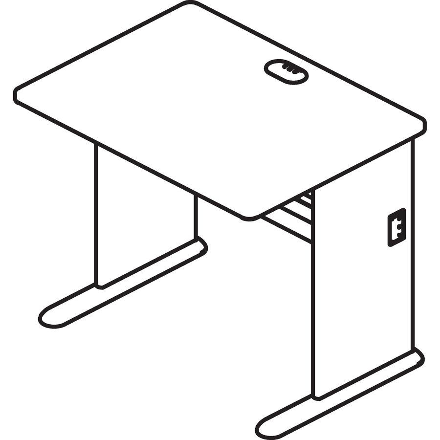 Bush Business Furniture Series A 48w Desk Bshwc A