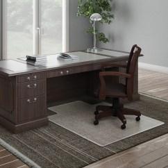 Custom Size Chair Mats For Carpet Desk Chairs Singapore Deflecto Execumat Wide Lip High Pile Chairmat