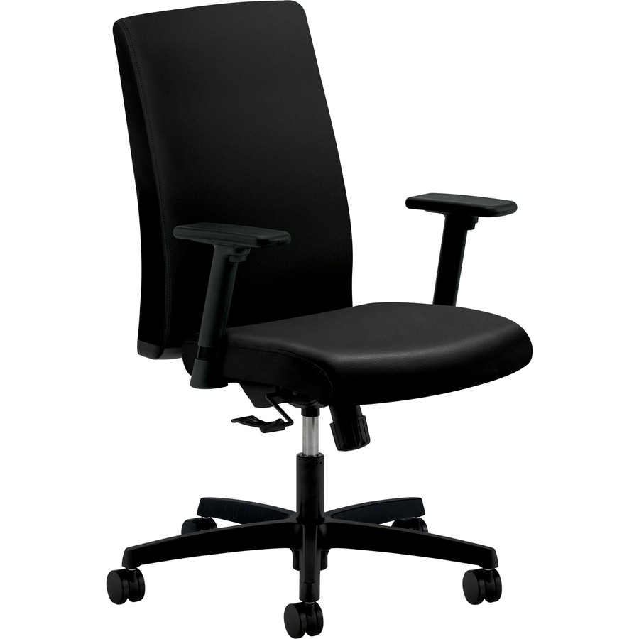 hon ignition fabric chair one and half sleepers hiwm1 mid back management zerbee