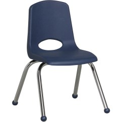 Staples Stacking Chairs Adams Stackable Plastic Adirondack Ecr4kids 14 Quot Stack Chair Chrome Legs Supplygeeks