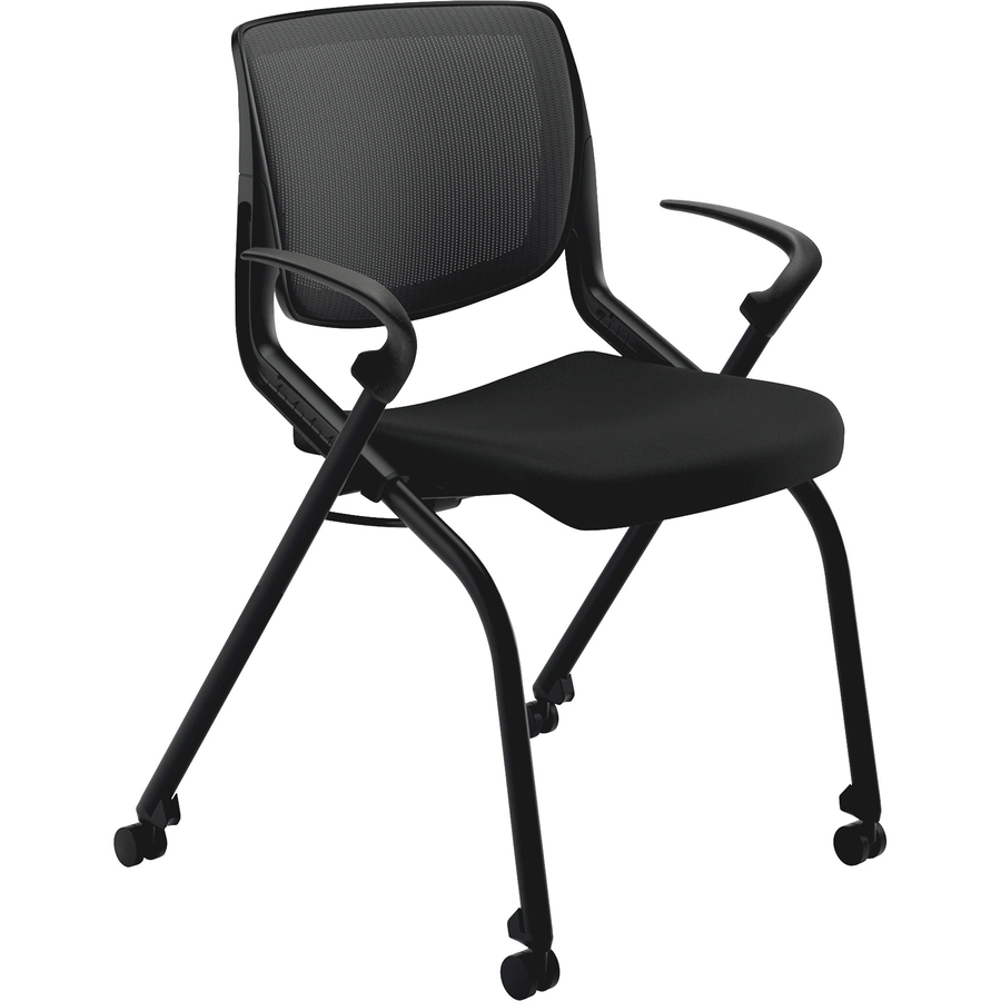 lifetime stacking chairs 2830 black molded seat barber chair parts hon motivate nesting yuletide office